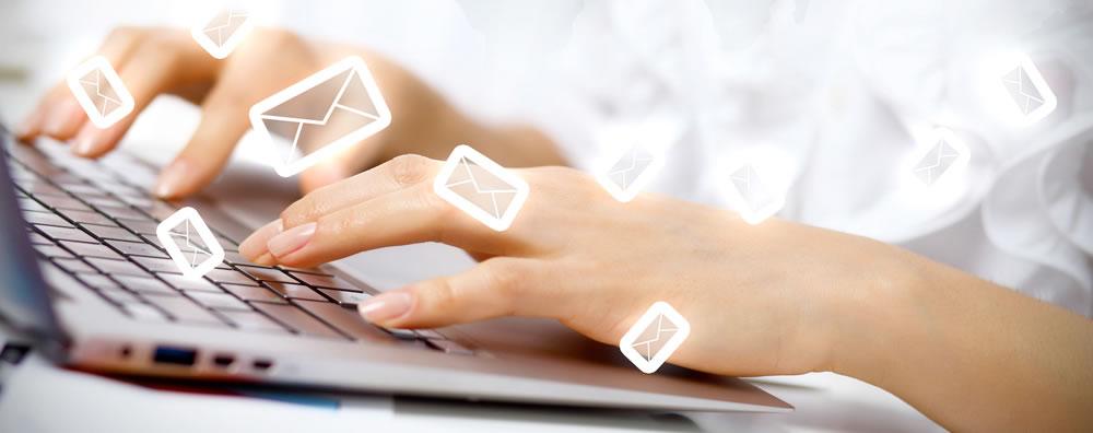spedisci email gratuitamente